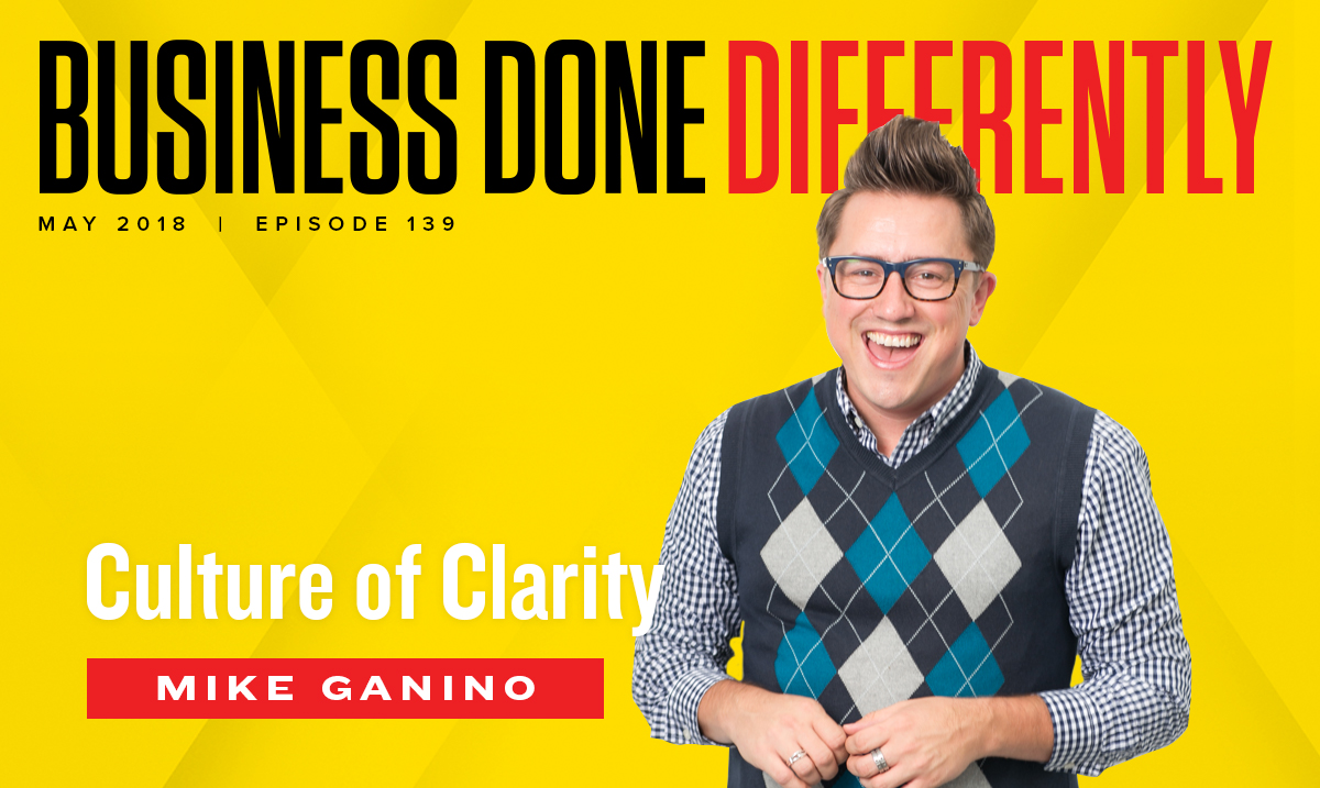 Mike Ganino - Culture of Clarity | Ep. 139