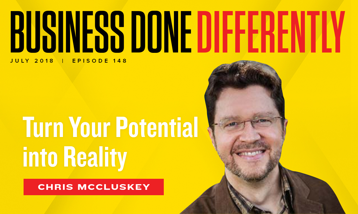 Chris McCluskey - Turn Your Potential Into Reality