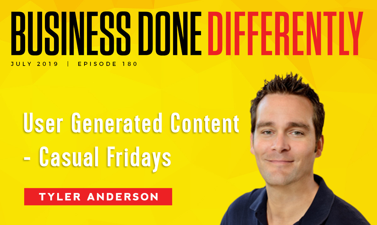 BDD 180   User Generated Content