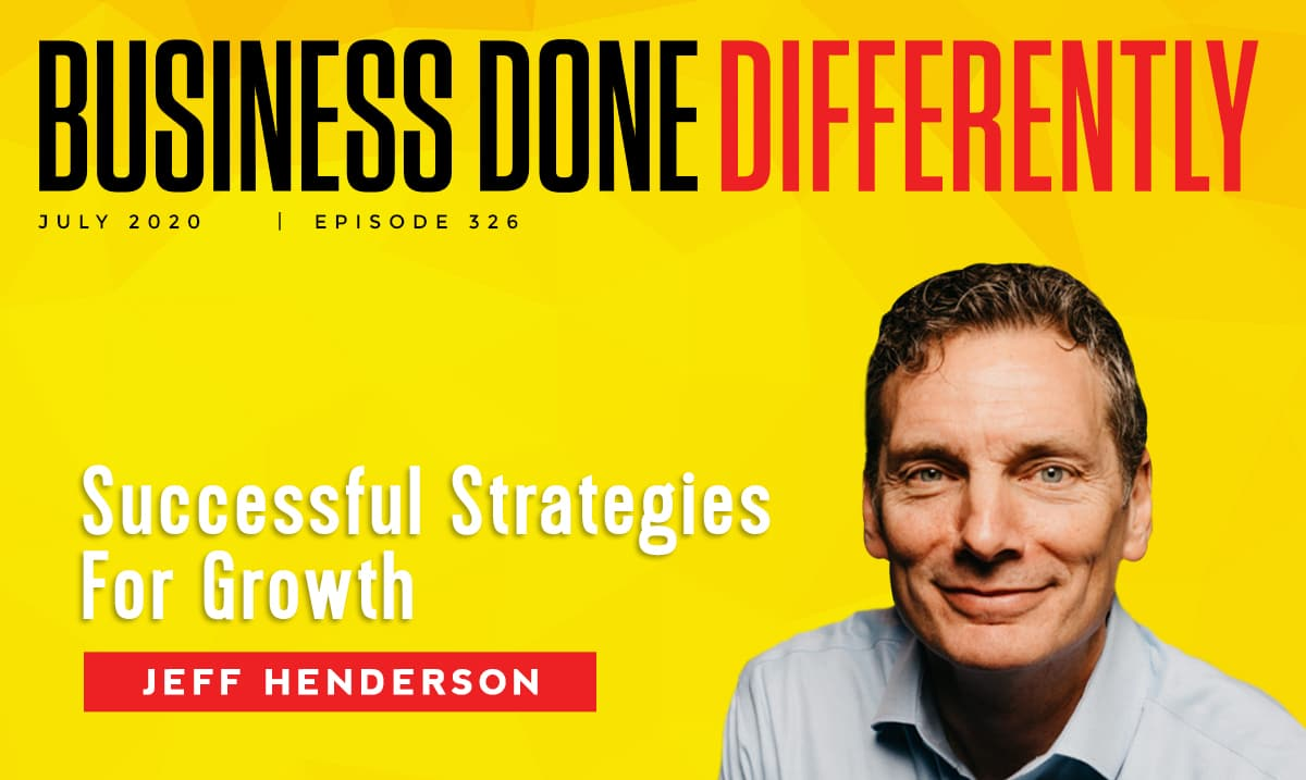 BDD 326 | Strategies For Growth