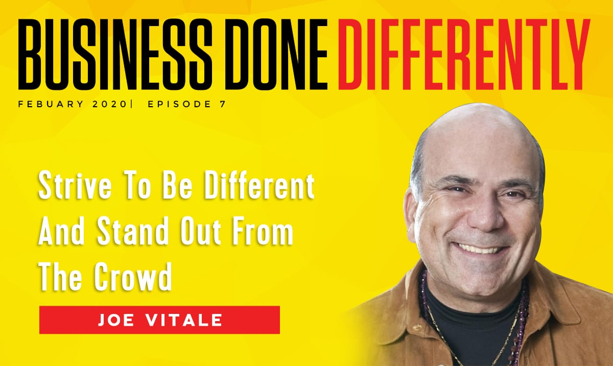 BDD 7 | Strive To Be Different